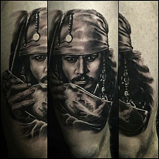 I did this one last year at Helsinki Ink. Was super fun! Good memories! #markuskoskela #downundertattoo #tatuointistudio #goodink #vikingink #goodinkbulgaria #lappeenranta